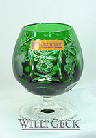 Nachtmann Grape Brandy Snifter emerald
