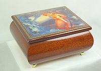 M.I. Hummel Music Box: Heavenly Angel, 5.1inch
