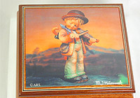 M.I. Hummel Music Box: Stormy Weather, 5.1inch