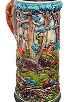 Large Hunting Beerstein 1.5L / 50 fl oz