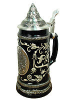 Beerstein Pewter Medal Germany 9.5 inches