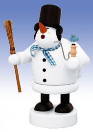 KWO Smoker Snowman 7.9 inches