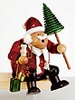KWO Smoker Santa Claus 10.2 inches