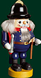 RG Nutcracker Historical Firefighter, 7.5 inches