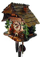 1-Day Cuckoo Clock, The Goatherd, 9.8inch