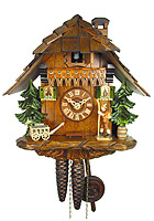 1-Day Cuckoo Clock The Wanderer, 9.84inch