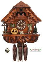 8-Day Music Cuckoo Clock  Music Dancers Clock-Seller