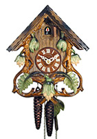 1-Day Cuckoo Clock - Vines - 10.2inch